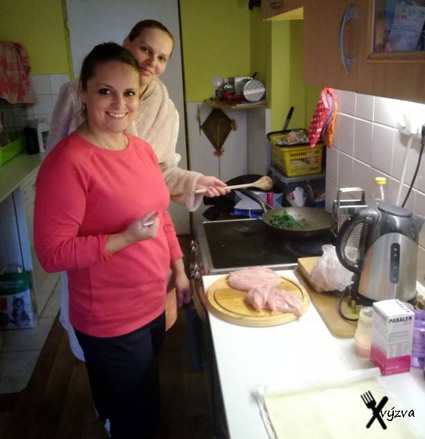 dnes vaří Terezka