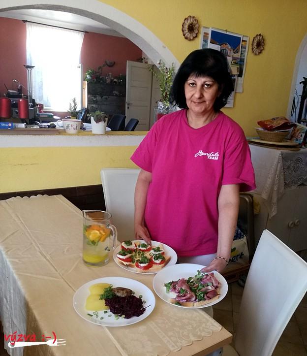 dnes vaří Yvett